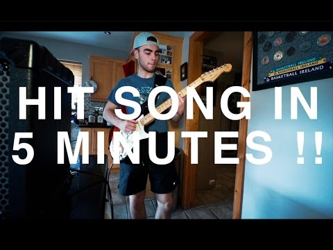 How To Write A Hit Pop Song In 5 MINUTES !!!