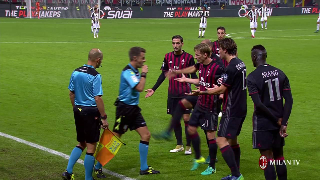 Highlights AC Milan-Juventus FC 23rd October 2016 Serie A ...