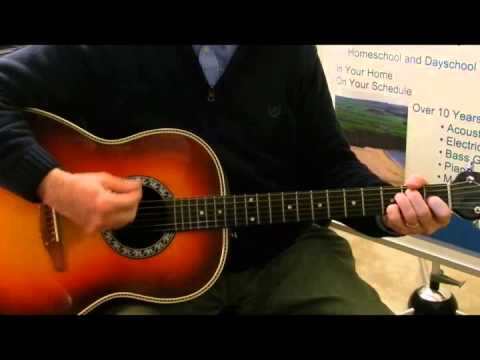 Key Of E Chords With A Bsus Youtube