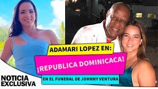 Adamari López transmitirá desde República Dominicana funerales de Johnny Ventura.