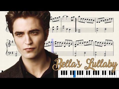 Bella's Lullaby - Carter Burwell (Music Sheet/Partitura)