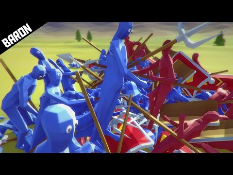 The INVINCIBLE PEASANTS Challenge - Totally Accurate Battle Simulator