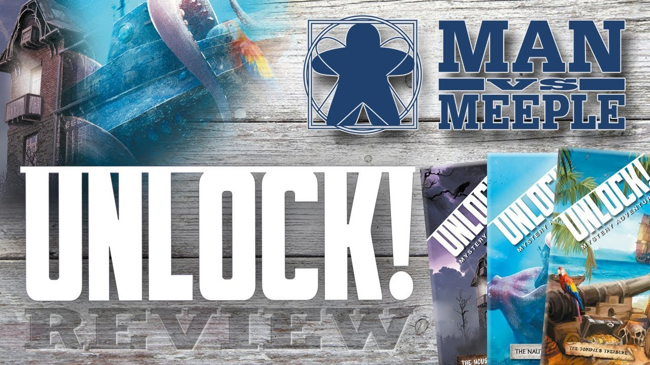 UNLOCK! Mystery Adventures (Space Cowboys) Review by Man vs Meeple