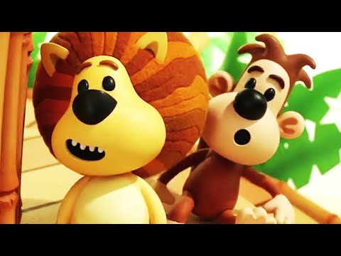 Raa Raa The Noisy Lion | Catch Me If You Can | English Full Episodes | Kids Cartoon 🦁