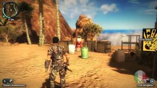 JUST CAUSE 2 gameplay demo parte 1/2 in italiano ITA PC HD
