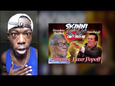 SKINNI GO LIVE - Peter Popoff Don' Tricked My Grandma