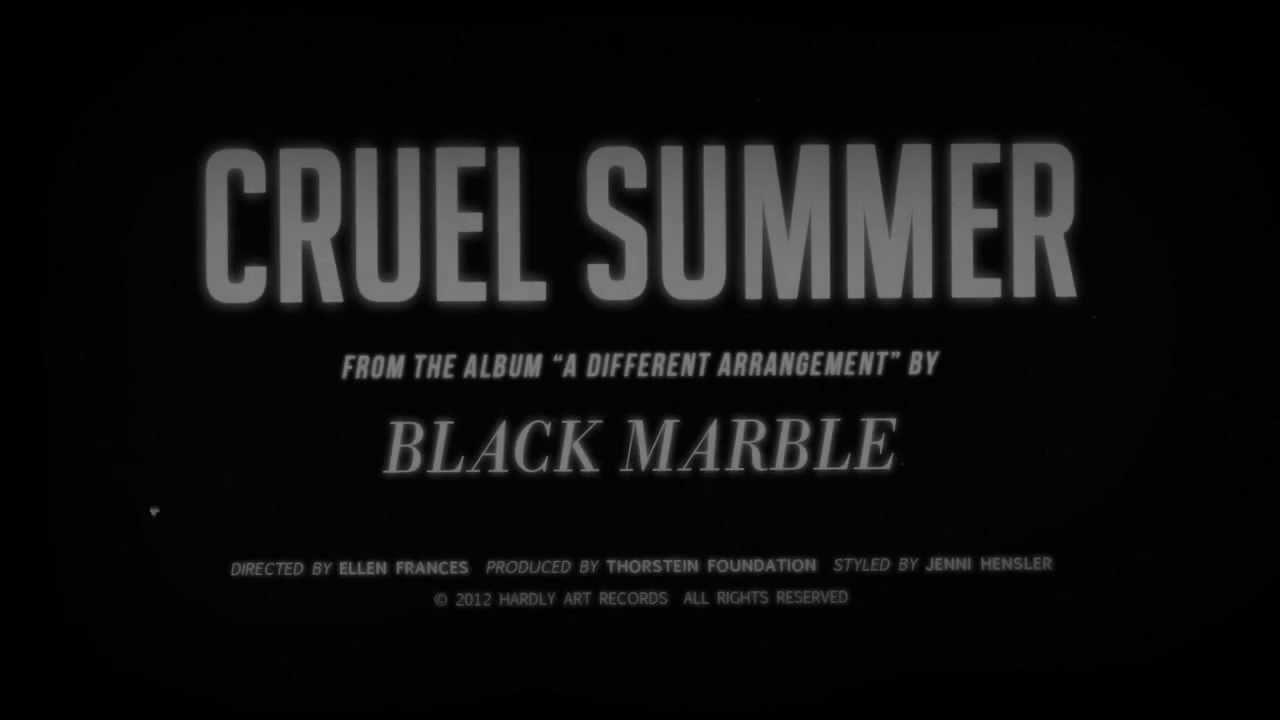 black-marble-cruel-summer-official-video-hardlyartrecords