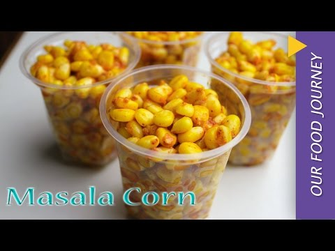 Masala Corn Recipe