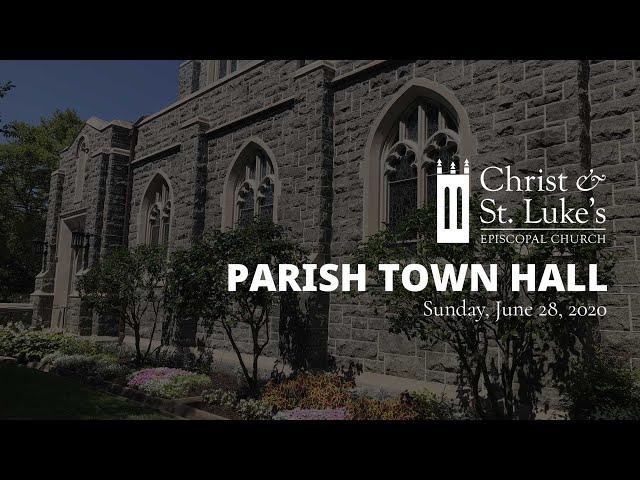 Parish Town Hall Meeting