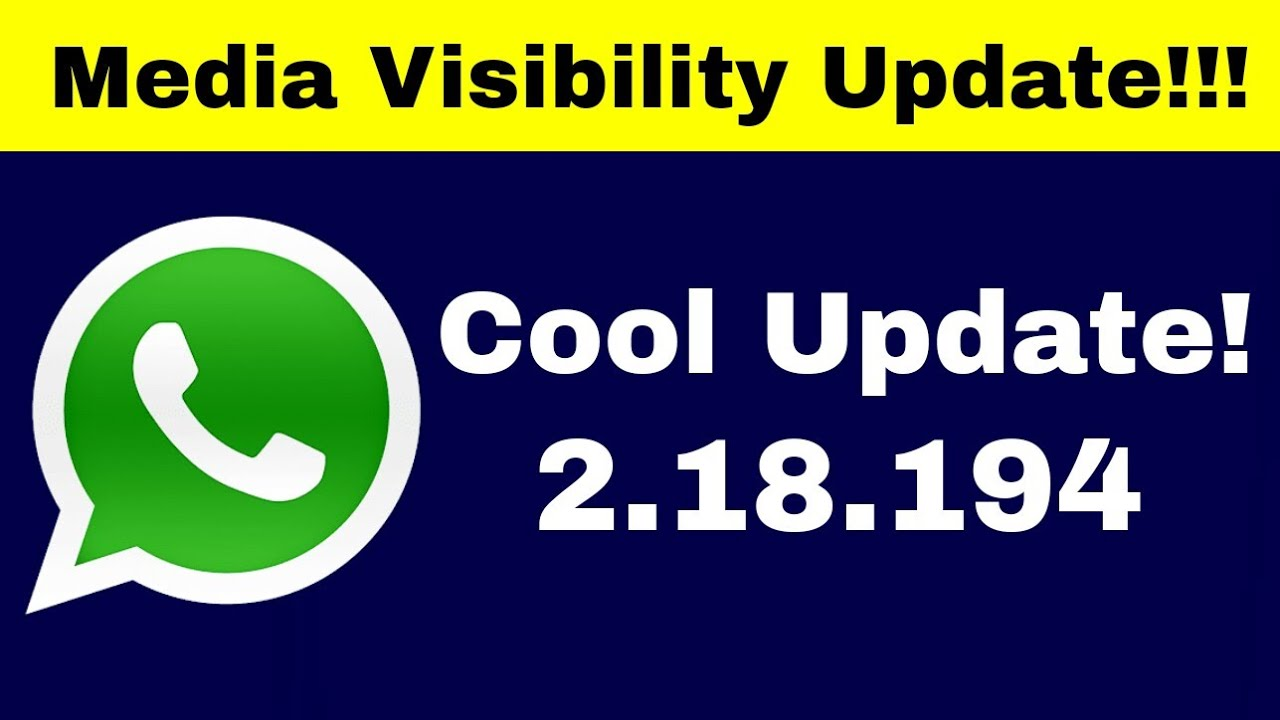 download whatsapp beta version 2.18.194
