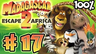 Madagascar Escape 2 Africa Walkthrough Part 17 (X360, PS3, PS2, Wii) 100% - Dam Busters - (Ending)