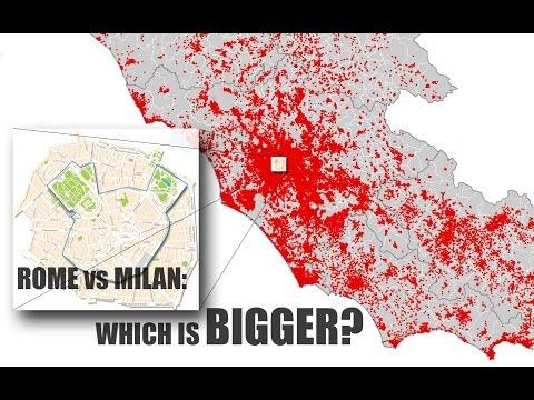 Citta' Metropolitana: ROMA vs MILANO