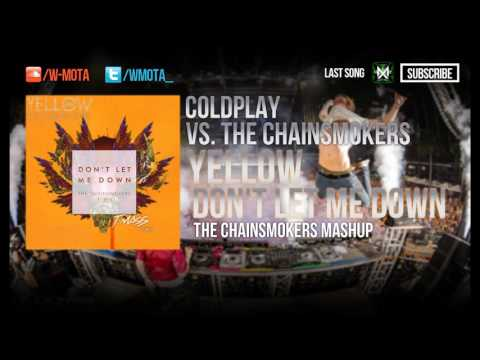 Yellow vs Don't Let Me Down (The Chainsmokers...