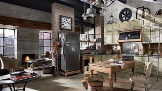Vintage Custom-Crafted Kitchen takes you back in Time!