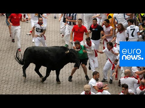 Dana McKenzie - Man Stops To Take Selfie While Running With Bulls, And Gets Gored