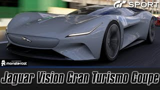 Gran Turismo Sport: Jaguar Vision Gran Turismo Coupe | ELECTRIC JAAAAG