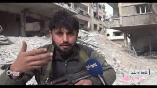 بدء المرحلة الثانية من معركة دمشق