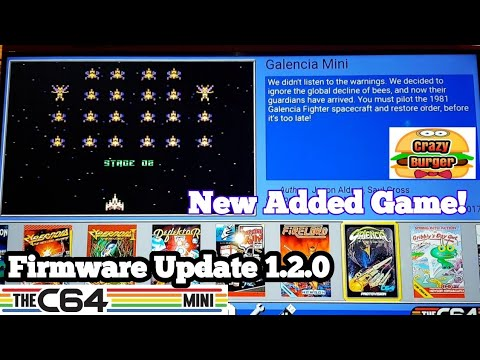 C64 Mini firmware update 1 2 0 Dec 2018