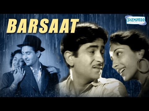 Barsaat (1949) - Raj Kapoor, Nargis and Premnath - Bollywood Classic Movie - Full Length HQ