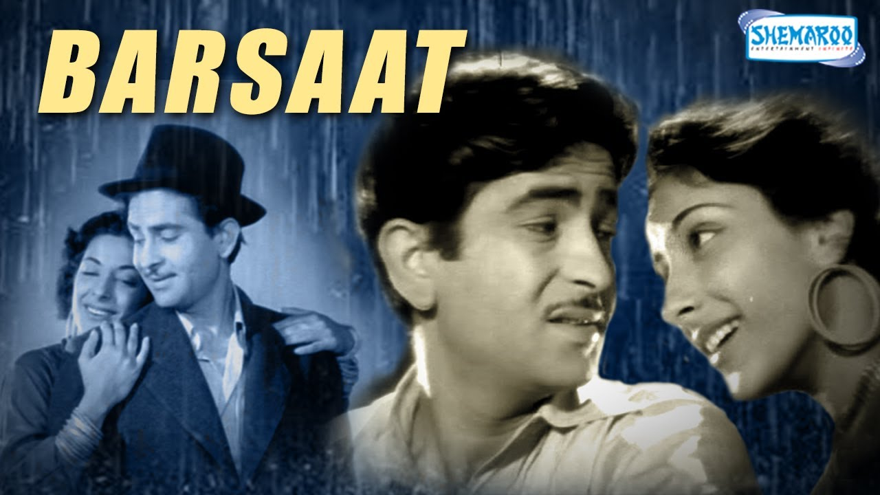 barsaat 1949 hd hindi full movie raj kapoor nargis bollywood classic movie with eng. Black Bedroom Furniture Sets. Home Design Ideas