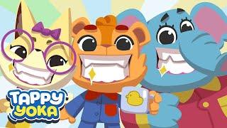How to Brush Your Teeth - Brushing Baby Teeth | Nursery Rhyme Colorful Kids Song | Oral Hygiene screenshot 4