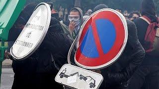 السلطات الفرنسية تمنع تظاهرة دعت إليها النقابات الخميس