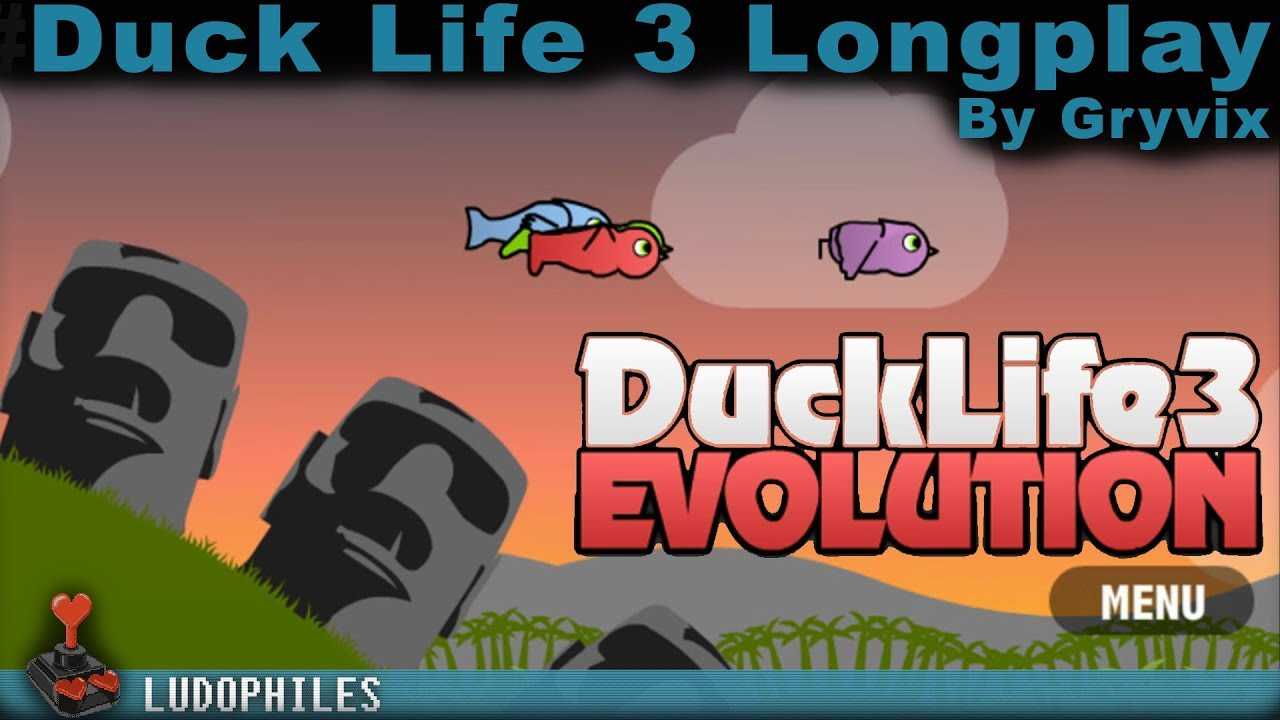Duck Life 3 Evolution Longplay Full Playthrough No