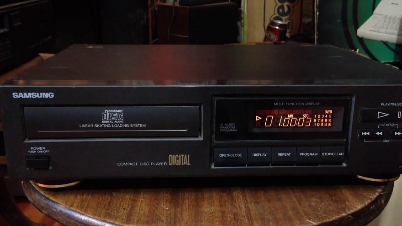 Бумбокс CD USB MP3 плеер Lisong LS-4722 - YouTube