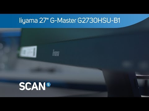 "Iiyama 27"" G-Master G2730HSU-B1 1080p Gaming monitor with FreeSync 75Hz 1ms - Overview"