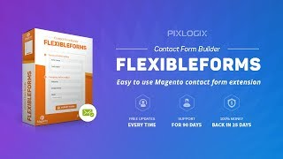 Contact Form Builder Flexibleforms Magento Extension by Pixlogix