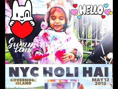 HOLI PARTY Festival of COLORS   HOLI HAI GOVERNOR'S ISLAND NEW YORK