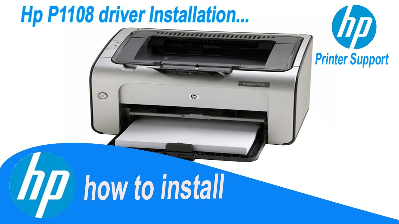 Hp Laserjet P1108 Driver How To Install Easily Direct Install Driver Youtube