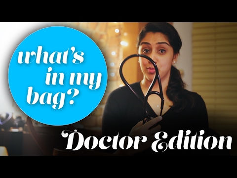 What's in My Bag: DOCTOR EDITION  - VL#12