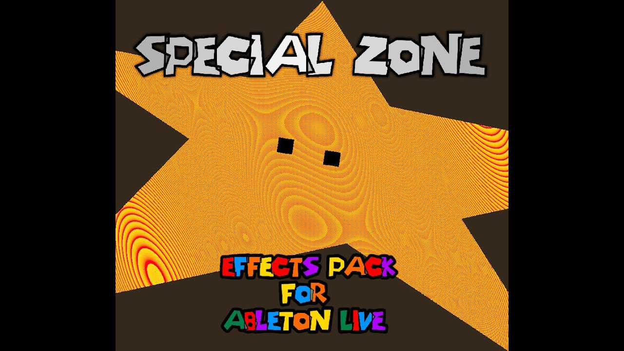 Special Zone: Free Ableton Live Audio Effects Inspired by