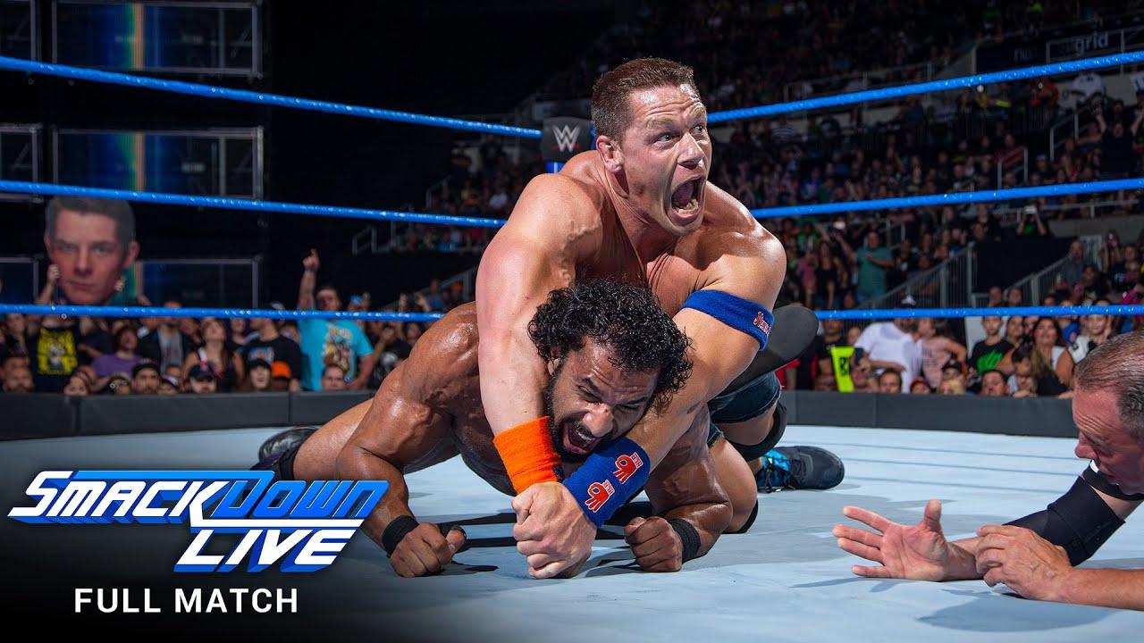 FULL MATCH - John Cena vs. Jinder Mahal: SmackDown LIVE, August 15, 2017