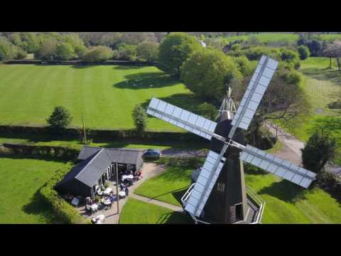Aerial Tour of Stelling Minnis Windmill - Easter 2017