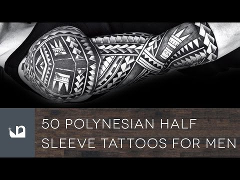 50 Polynesian Half Sleeve Tattoos For Men