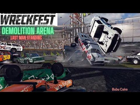 Wreckfest Demolition Arena Last Man Standing Round 1   Logitech g29 gameplay  