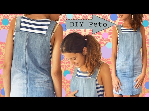 62200db9c DIY Dungaree - Overalls / Convert Old Jeans Into Girl Dungaree - Easy and  chap