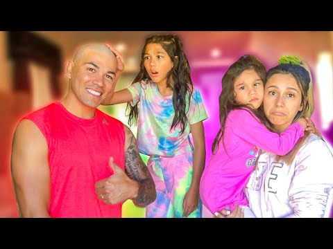 I SHAVED MY HEAD TO SEE HOW MY FAMILY REACTS!!! **SHOCKING**