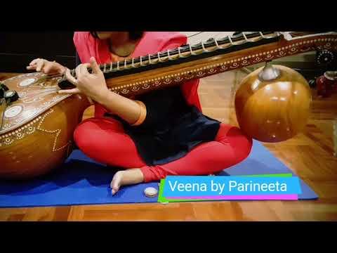 Ghoomar Song| Padmavati| Veena Instrumental|Taanam style
