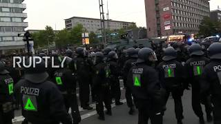 LIVE: Protests continue in Chemnitz following anti-migrant march