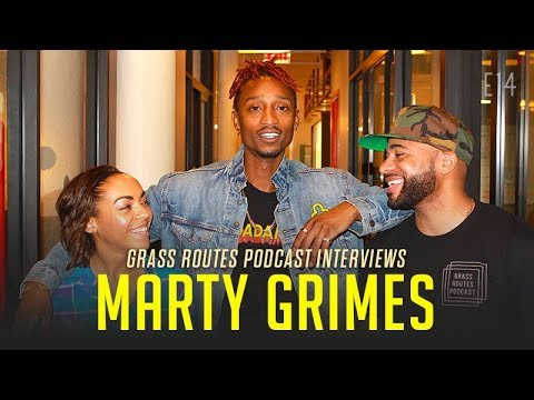 Marty Grimes talks Cold Pizza, best friend G-Eazy and working at a pizza shop