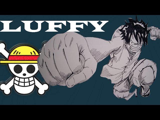 Speed Draw - Monkey D.Luffy