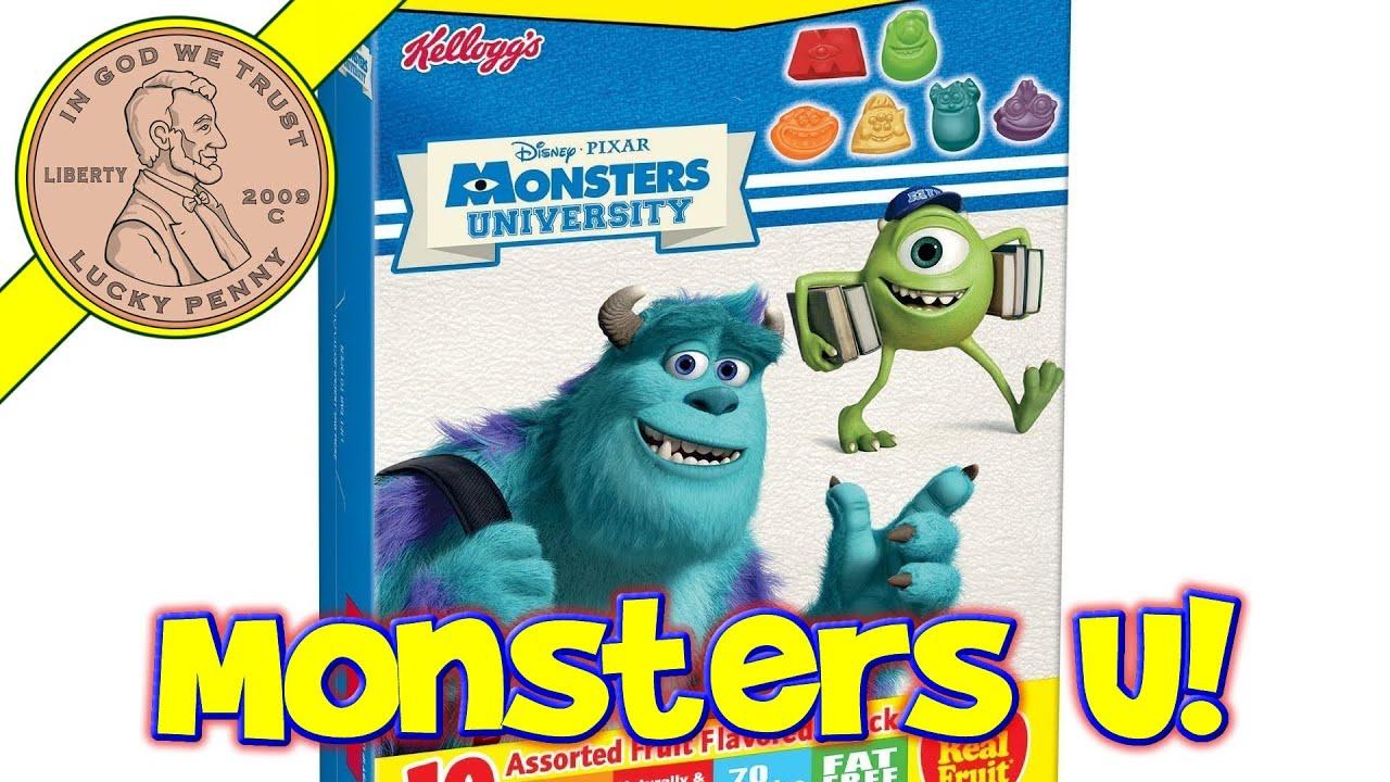 Kellogg's monsters university coupon