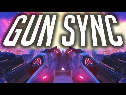 Overwatch Gun Sync #3 - Lost On You (Elk Road Remix)