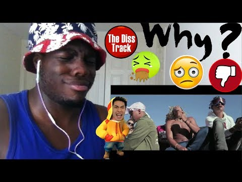 RICEGUM DISS TRACK!!! (RICE GUM ROASTED ME) by Woahh Vicky REACTION!!