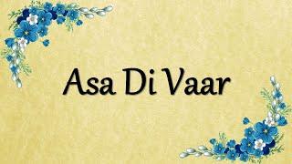 Bhai Balwinder Singh Rangila Asa Di Var Bhai Balwinder Singh Rangila Free MP3 Song Download 320 Kbps