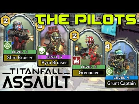 TITANFALL ASSAULT ! HOW TO USE THE PILOTS ! Tips & Strategy (iOS / Android Gameplay)