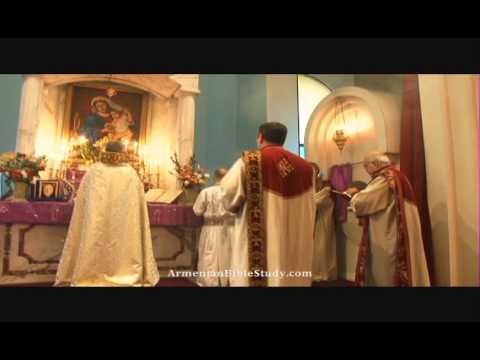 Holy Martyrs Armenian Church Badarak